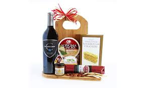 gourmet cheese gift baskets wine cheese board gift set
