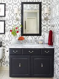 how to redo bathroom cabinets for cheap painting bathroom cabinets better homes gardens