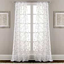 gray and silver curtains u0026 drapes you u0027ll love wayfair