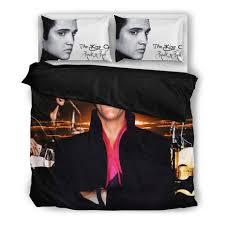 Elvis Comforter Elvis Duvet Cover Set E U2013 Novelty Trends