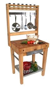 john boos prep blocks pot rack work stations