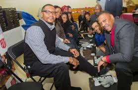 toyota financial services toyota kicks off baltimore auto show by donating winter boots and