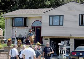 ross tax collector injured in blaze inside his home pittsburgh