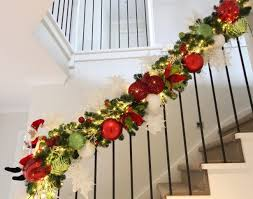 model staircase remarkable garland for staircase images concept