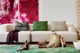 sofa schã ner wohnen de pumpink wohnzimmer streichen braun grün