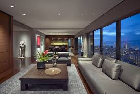 Everything In The Apartment Follows Modern And Luxury Interior - Luxury apartment design