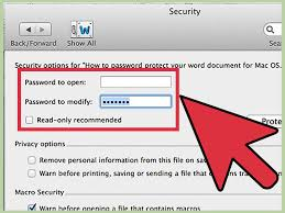 4 ways to password protect a microsoft word document wikihow