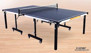 Tiga Ping Pong Table by Stiga Sts 285 Table Tennis Table Gopher Sport
