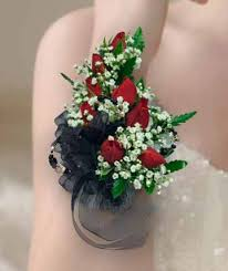 Black And White Corsage Corsages U0026 Boutonnieres Wrist Corsages Willoughby Oh