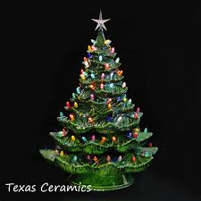 ceramic christmas trees ceramic christmas tree 24 inches green tree colorful