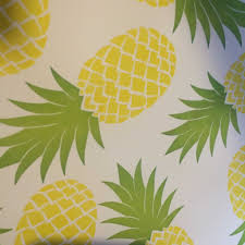 pineapple wrapping paper gingerbread play house a host of things