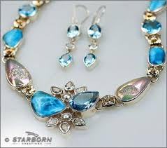 silver necklace with gemstone images Starborn hand crafted silver gemstone jewelry wholesale jpg