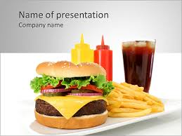 Fast Food Powerpoint Template Fastfood Powerpoint Template Fast Food Ppt