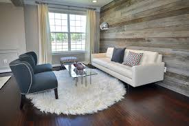 modern living room reclaimed wood wall contemporary living