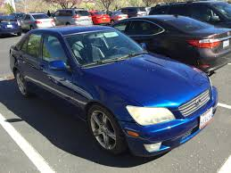 lexus is300 blue codex u0027s u0027new u0027 2001 is300 daily driver an ongoing resto build