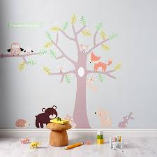100 nursery jungle wall stickers animal wall stickers baby nursery jungle wall stickers childrens bedroom wall stickers uk pierpointsprings com