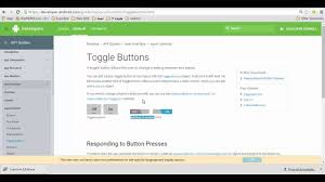 android toggle button android studio toggle button on exle