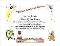 preschool graduation diploma preschool diploma template svptraining info