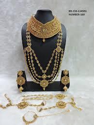 wedding jewellery artificial wedding jewellery set with rani haar