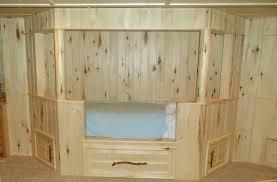 Built In Bedroom Furniture Designs Bedroom Look Oak Unfinished Built In Beds With