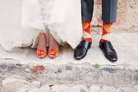 wedding shoes for of the groom match the groom with orange peep toe wedding shoes wedding shoes