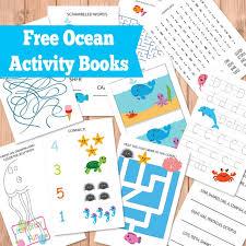 ocean activity books itsy bitsy fun
