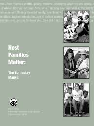 peace corps host families matter the homestay manual 2010 ice