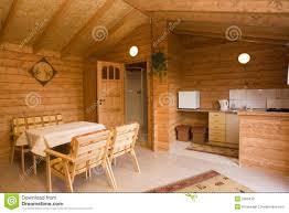 interior of log homes cottege homes model interior decorating