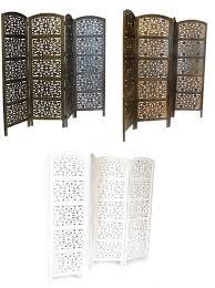4 panel room divider 4 panel hand carved indian screen wooden flower design screen room