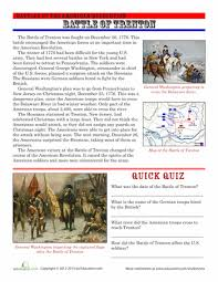 the battle of trenton the battle worksheets and my grandmother