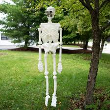 Plastic Halloween Skeletons Amazon Com Life Size Plastic Skeleton Home U0026 Kitchen