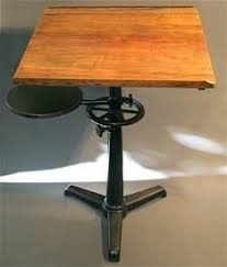 Small Drafting Table Industrial Draft Desk Turn In Table In My Studio
