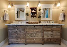 rustic bathroom lighting for your countryside houses