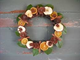 original decorations for the tree with dried fruit