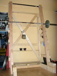 Diy Wood Squat Rack Plans by Homemade Squat Rack Plans