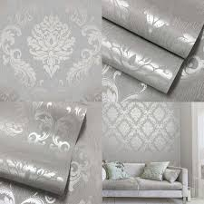 Best  Silver Grey Wallpaper Ideas Only On Pinterest Grey - Bedroom wallpapers ideas