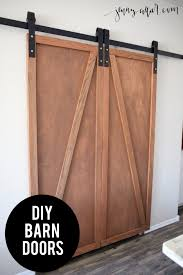how to make your own barn door hardware diy barn door pantry jenny collier blog