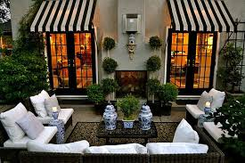Canvas Awnings For Patios Things That Inspire Design Element Metal And Canvas Awnings