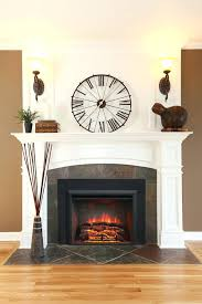 convert wood fireplace electric insert cost to burning 1810