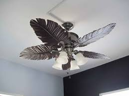 ceiling stunning tropical ceiling fans ideas palm leaf ceiling