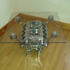How To Make An Engine Block Coffee Table - glass engine block tags astonishing engine crankshaft coffee