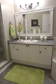 diy bathroom mirror ideas framed bathroom mirrors ideas home inspiration ideas