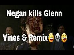 Walking Memes - funny negan kills glenn vines and remix compilation the walking