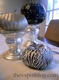 Halloween Duct Tape Crafts A Zebra Striped Pumpkin More Fun Pumpkin Crafts The V Spot