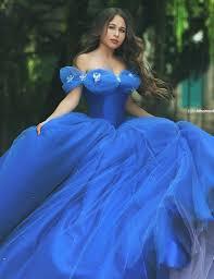 cinderella quinceanera dress aliexpress buy amazing royal blue organza gown