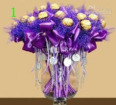 candy bouquets beautiful candy box bouquet happiness candies wedding flowers