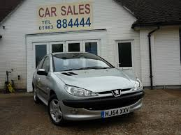 used peugeot 206 used 2004 peugeot 206 se 5dr for sale in ryde isle of wight