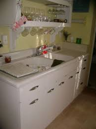 1950s Metal Kitchen Cabinets How Old Do You Think My Kitchen Sink Is Hometalk
