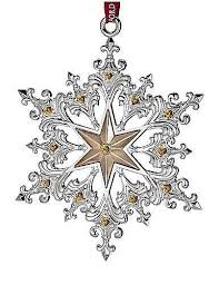 waterford silver 2014 annual snowflake ornament home