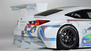 lexus rc gt3 2014 lexus rc f gt3 racing concept spoiler hd wallpaper 11